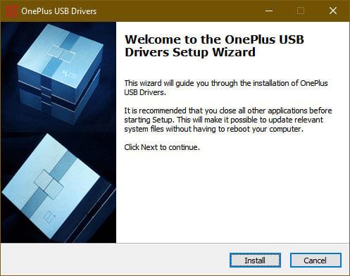 oneplus usb driver setup wizard