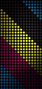 color dots punch hole wallpaper note 20