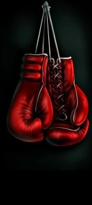 boxing glove hole punch wallpaper galaxy s20