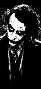 joker dot notch wallpaper