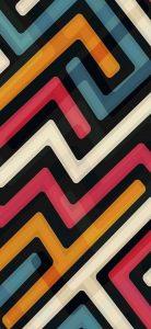 color lines dot notch wallpaper galaxy s20