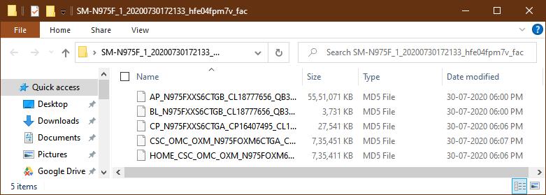 bl ap cp csc samsung firmware