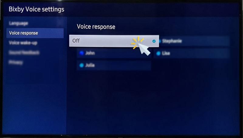 turn off bixby on samsung tv
