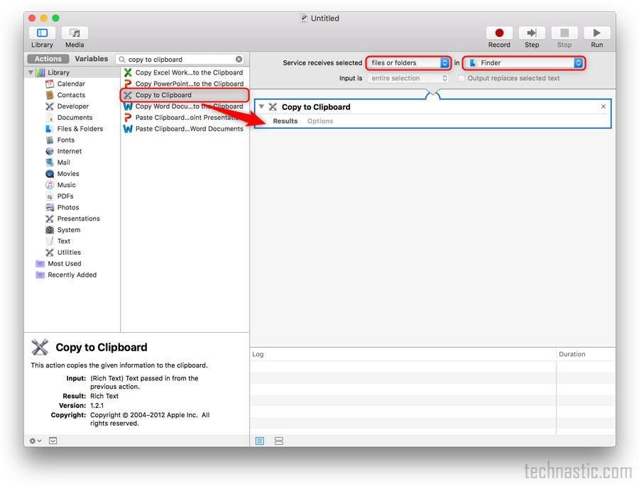add copy file path option via service menu on mac os