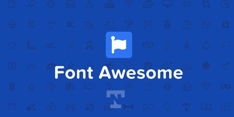 optimize font awesome