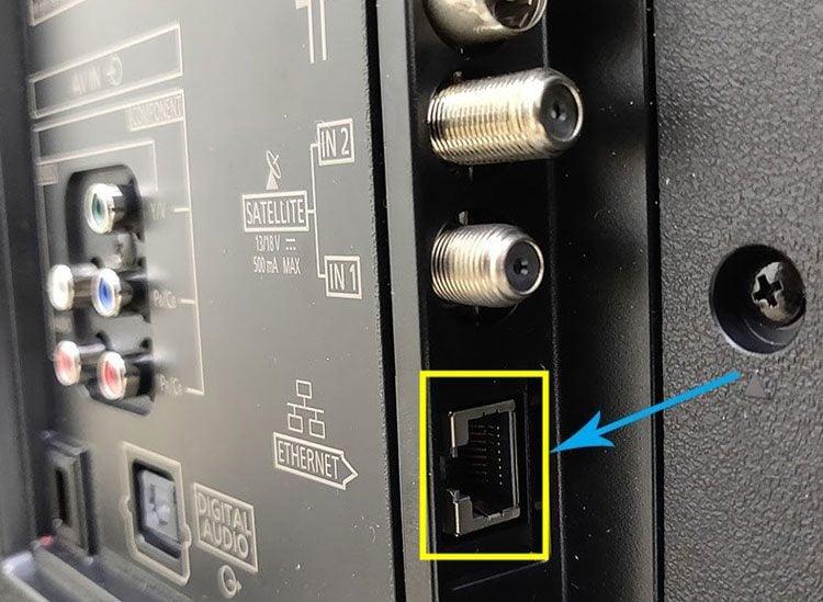 ethernet cable socket