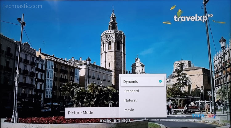 samsung tv picture modes