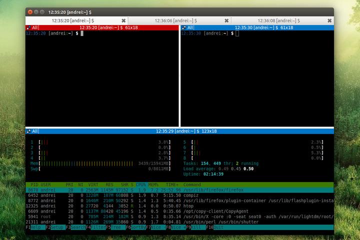 Terminator Linux terminal emulator