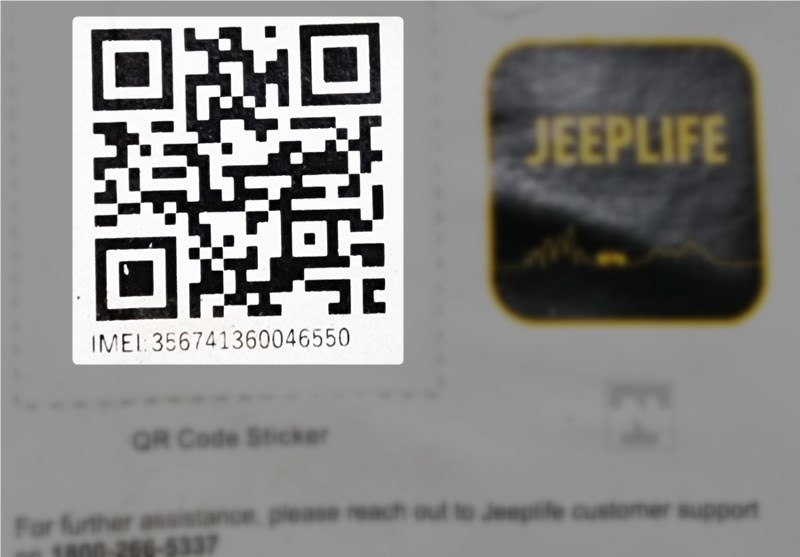 jeep gps dongle imei number