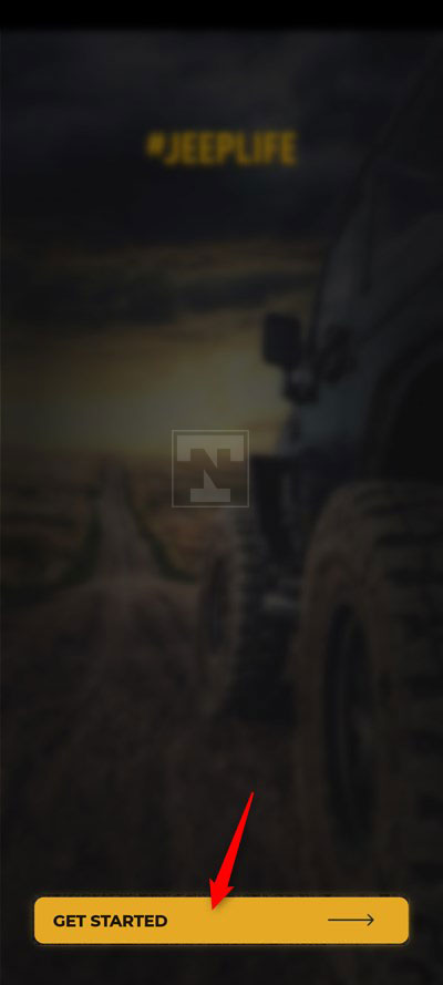 jeep life welcome screen